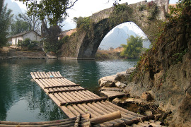 Yulong River Dragon Bridge - Yangshuo Mountain Retreat photo