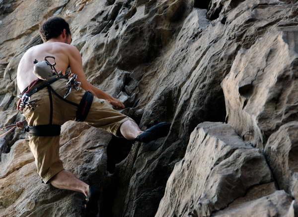 The best yangshuo climbing is a short distance from Yangshuo Mountain Retreat