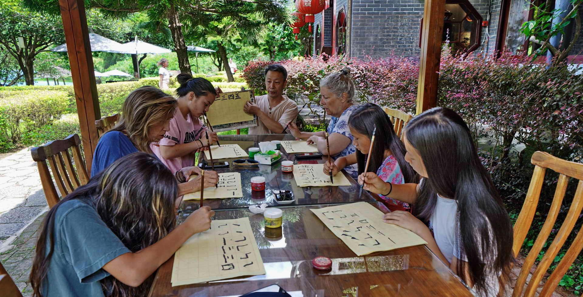 Yangshuo things to do Yangshuo China Tai Qi Yangshuo riverside classes
