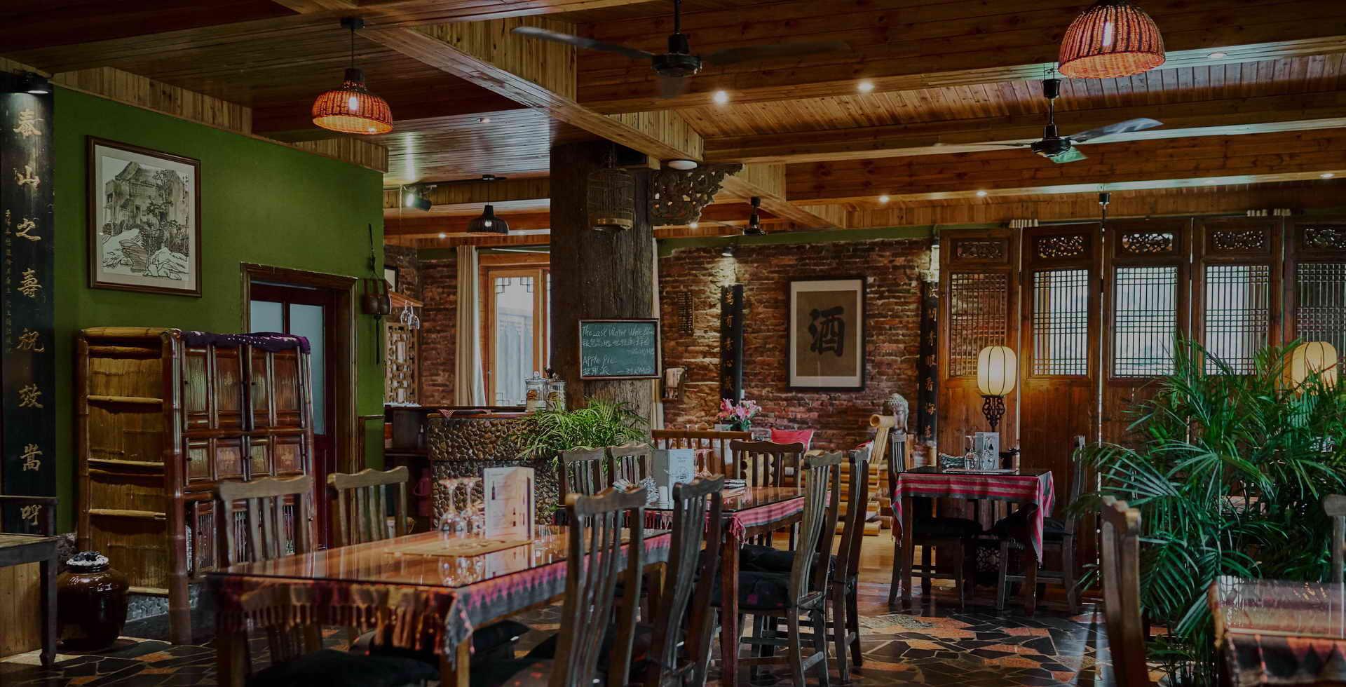 Yangshuo mountain retreat guilin Yangshuo restaurants