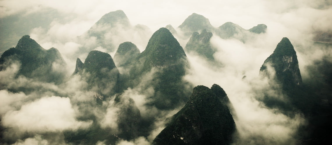 Yangshuo is the land of poets, set in a dreamland of enchanting karst mountains and pristine rivers